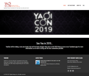 YaoiCon – Japanese Culture Convention for Yaoi, Boy's Love, Bara and more! 2018-03-19.png